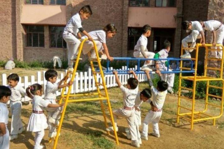 Lakshmipat Singhania Academy-Play Area