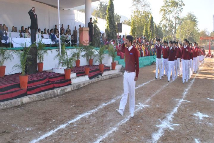 Lakshmipat Singhania School-March Past