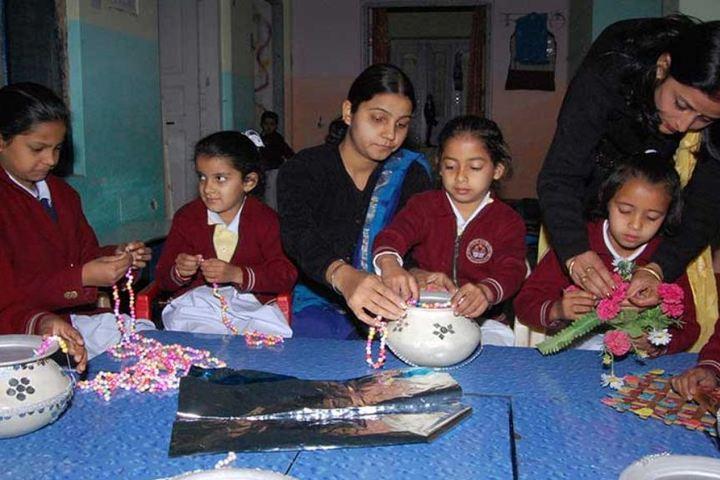 Lav Kush Model School-Arts