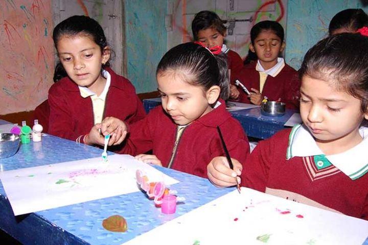 Lav Kush Model School-Drawing