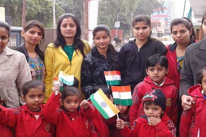 Lav Kush Model School-Independence Day