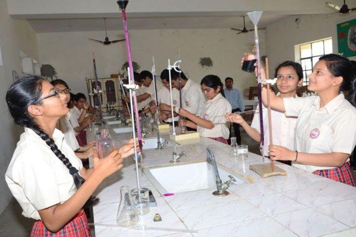 Lav Kush Model School-Science Lab