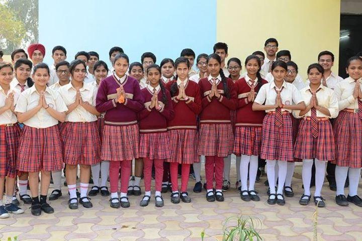 Lav Kush Model School-Students
