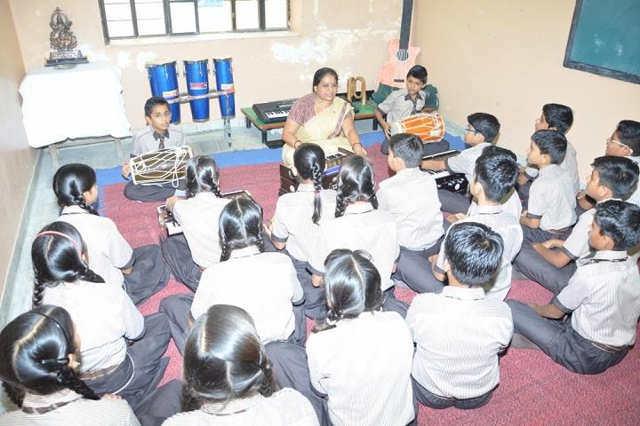 Laxmi Devi Mundra Public School-Music Room