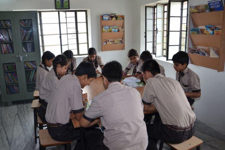 Laxmi Devi Mundra Public School-Library