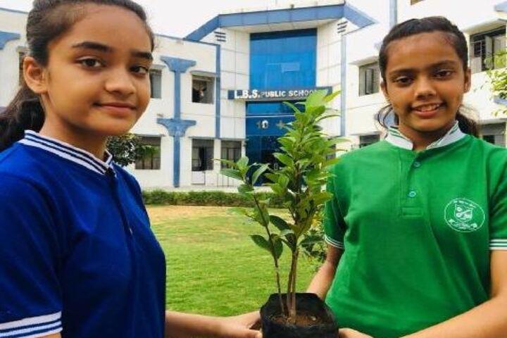 Lbs Public School-Planting