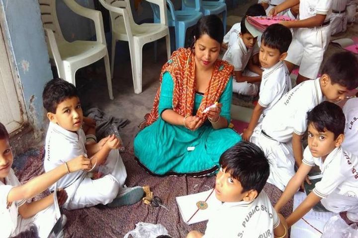 Lbs Public School-Rakhi Celebrations