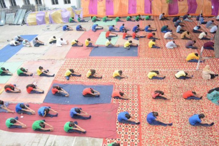 Kendriya Vidyalaya No 1- Yoga day
