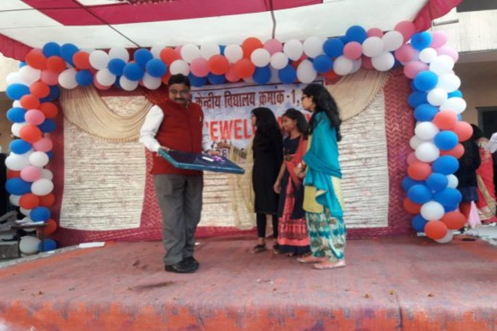 Kendriya Vidyalaya No 1-Farewell celebrations