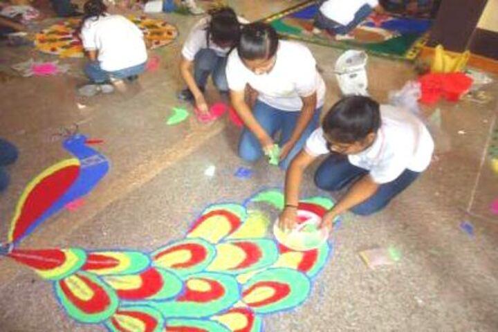 Lords International School-Rangoli