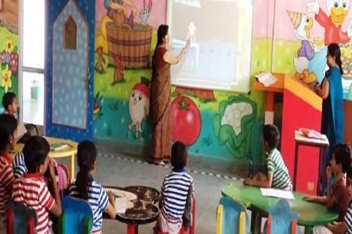 Lords International School-Smart classroom