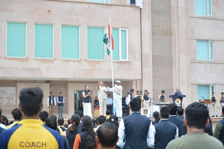 Lucky International School-Independences day