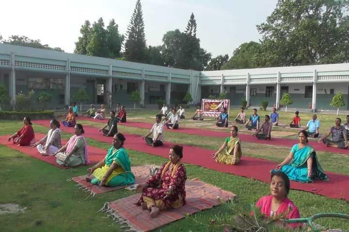 Kendriya Vidyalaya- International yoga day