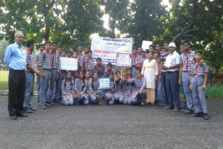 Kendriya Vidyalaya- Swatchh Bharath week