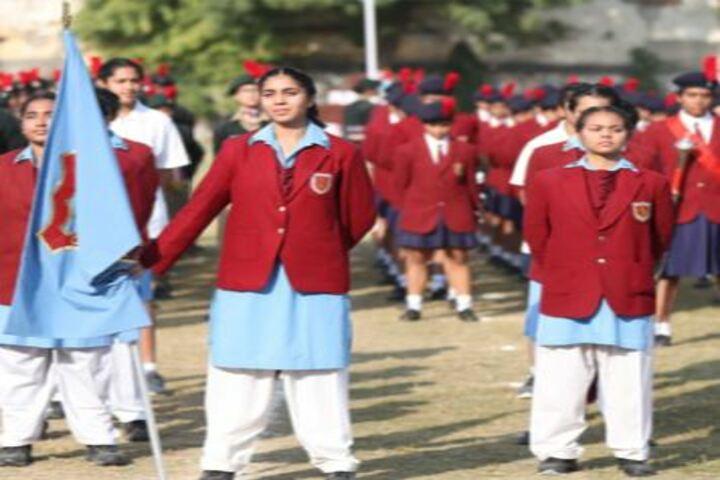 M G D Girls School-March Past