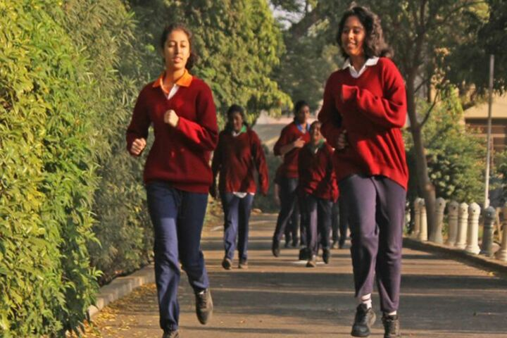 M G D Girls School-Students