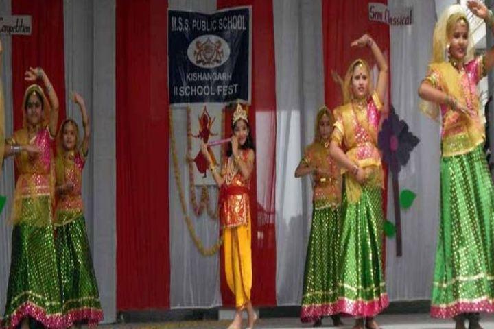 M S S Public School-Cultural Dance