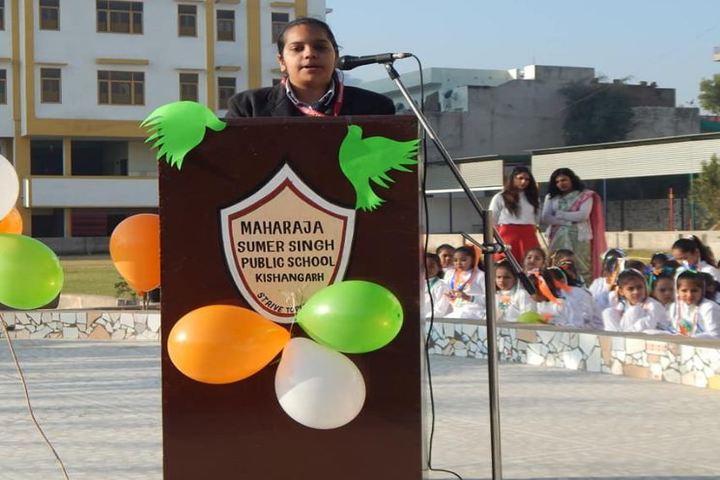 M S S Public School-Speech