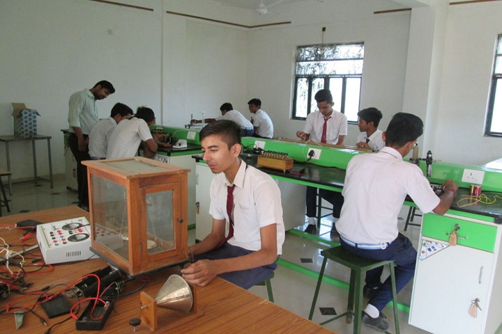 M  B  Public School-Physics lab
