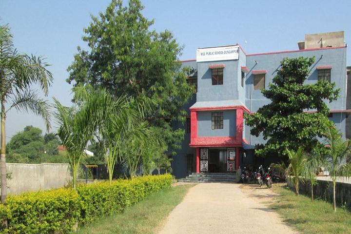 M  B  Public School-School building