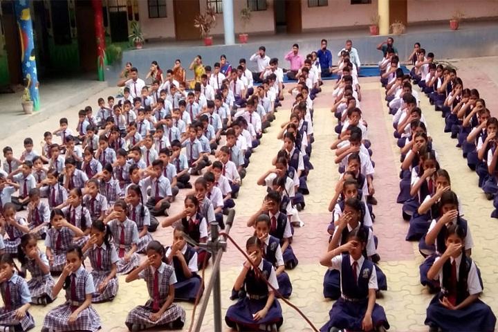 M  B Public School-Yoga