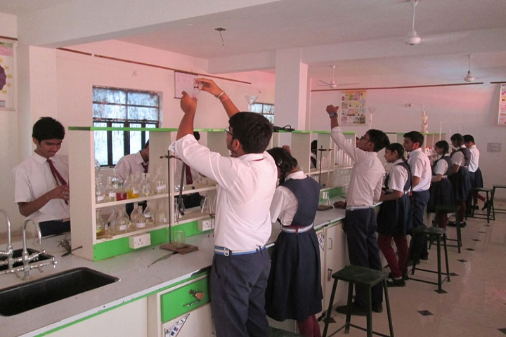 M B  Public School-Chemsitry labs