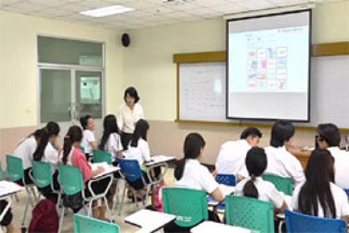M B Public School-Digitial classroom