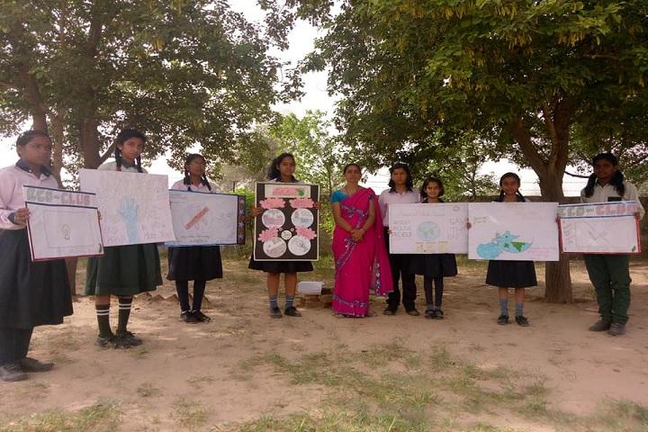 M D  Bhati Saraswati Niktan Public School-Science exhibition