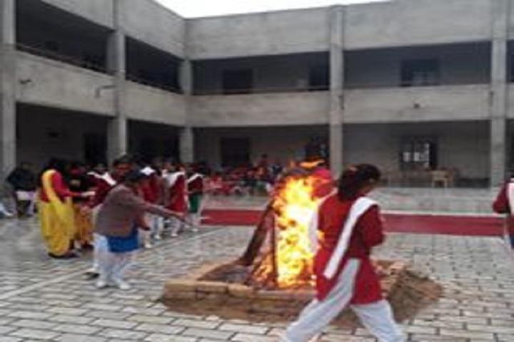 M D Children Acadmy-Camp fire