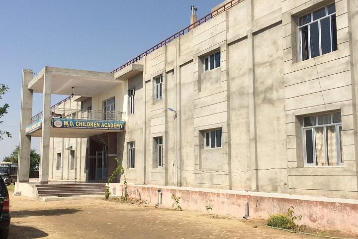 M D Children Acadmy-School building