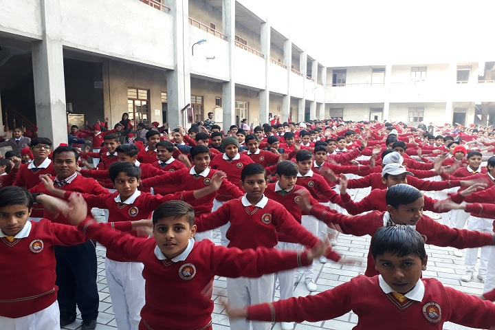 M D Children Acadmy-Yoga