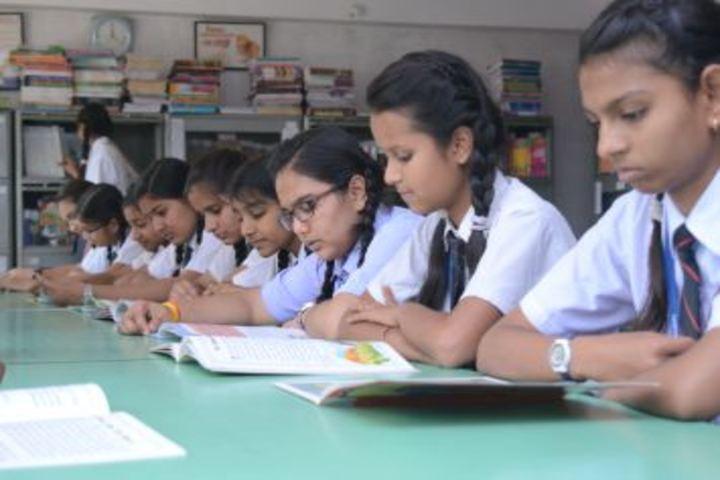 Maa Bharati Senior Secondary School-Library