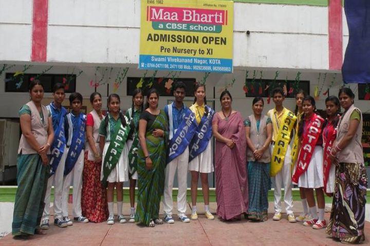 Maa Bharati Senior Secondary School-Students