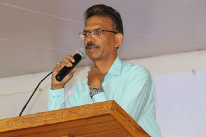 B V Bhavans International Residential Public School-Speech on Annual Teachers orientation