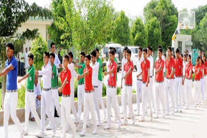 Maa Lodhi Devi Yaduvanshi Shiksha Niketan-March Past