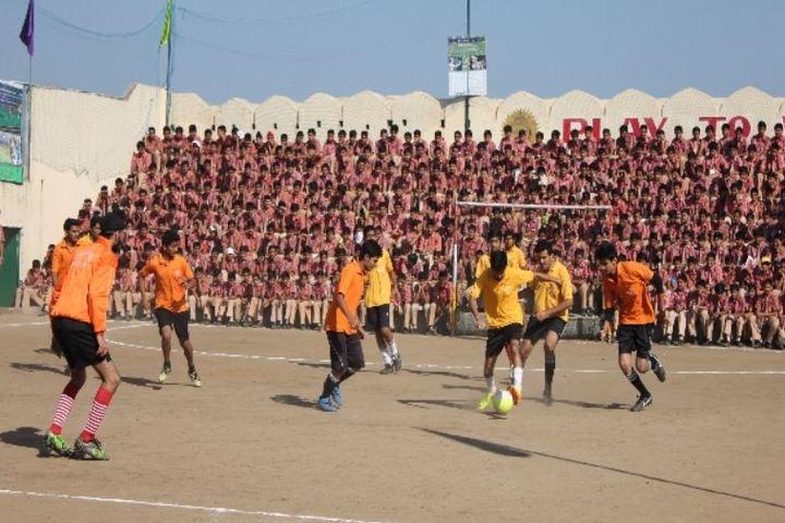Maharana Mewar Public School-Foot ball