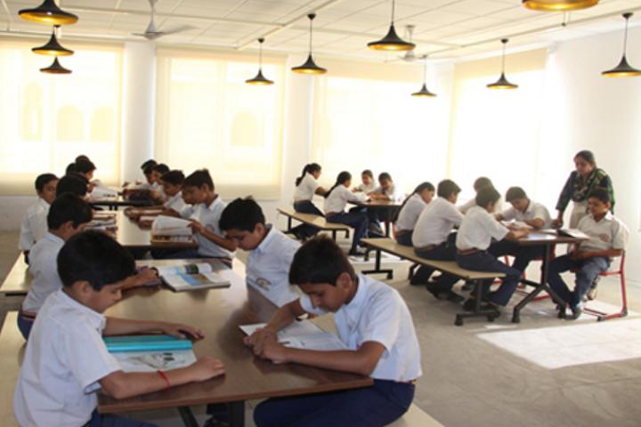 Maharana Mewar Public School-Library