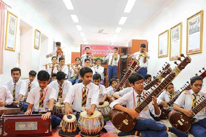 Maharana Mewar Public School-Music Room