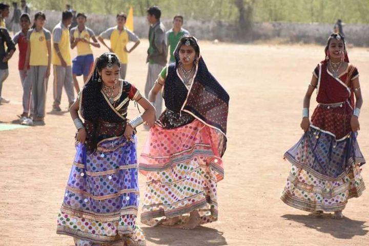 Maheshwari International School-Cultural Dance