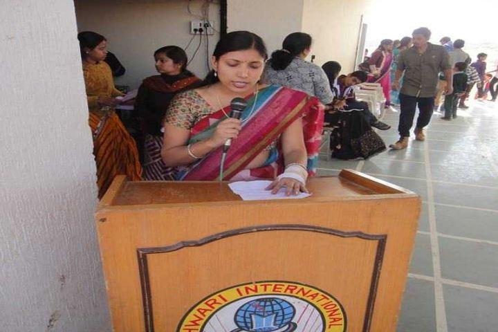 Maheshwari International School-Speech