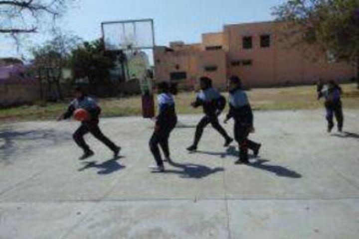 Mahila Ashram Public School-Basket Ball
