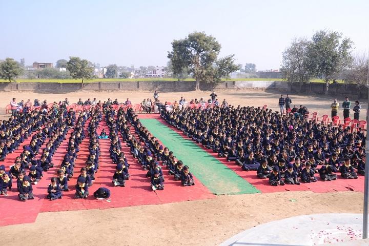 Manav Bharti Madhmik Vidyalaya-Assembly