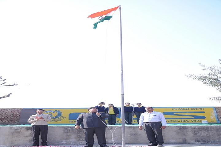 Manav Bharti Madhmik Vidyalaya-Independance Day