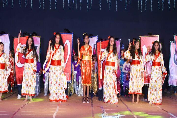Mascot The School-Chinese Dance