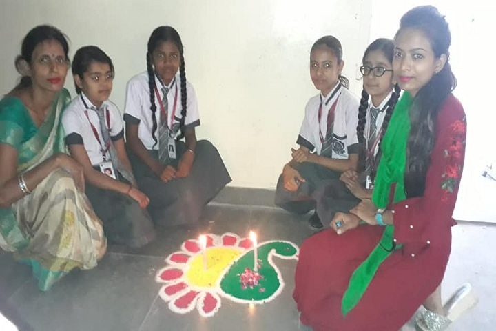 Maxford International School-Rangoli
