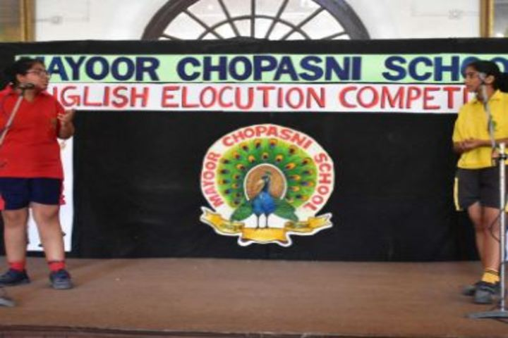 Mayoor Chopasni School-Activity