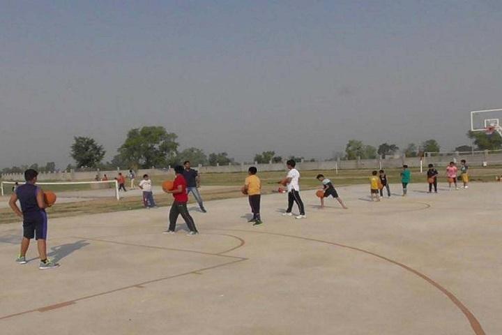 Modern School-Playground