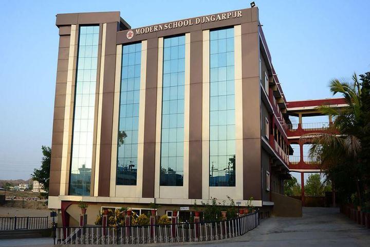 Modern School-Campus View