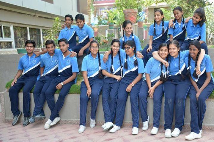 Modern School-House Group