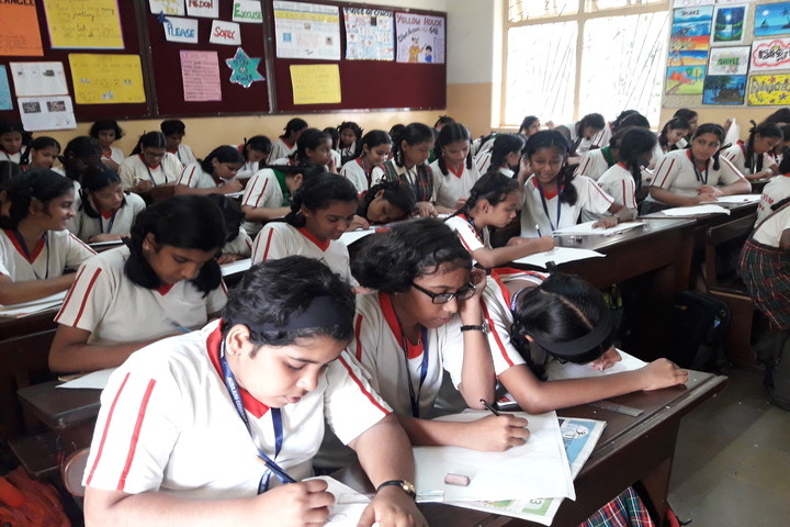 Auxilium Convent High School-Drawing Competition